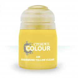 Air: Sigismund Yellow Clear