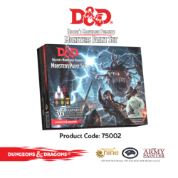 D&D Monsters Paint Set