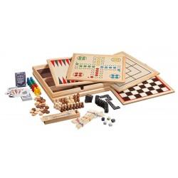 Holz-Spielesammlung 10
