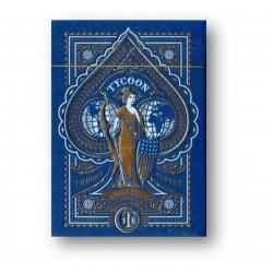 Tycoon Playing Cards blau