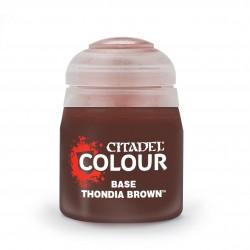 Base: Thondia Brown