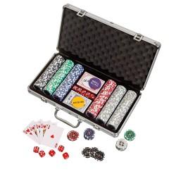 Pokerchips, Aluminiumkoffer