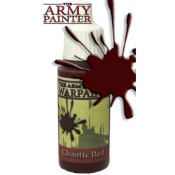 Warpaint Chaotic Red