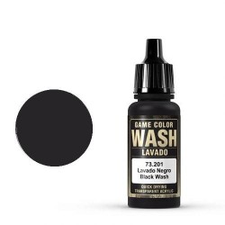 Game Wash Black Shade, 17ml