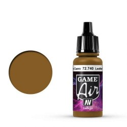 Game Air Leather Brown